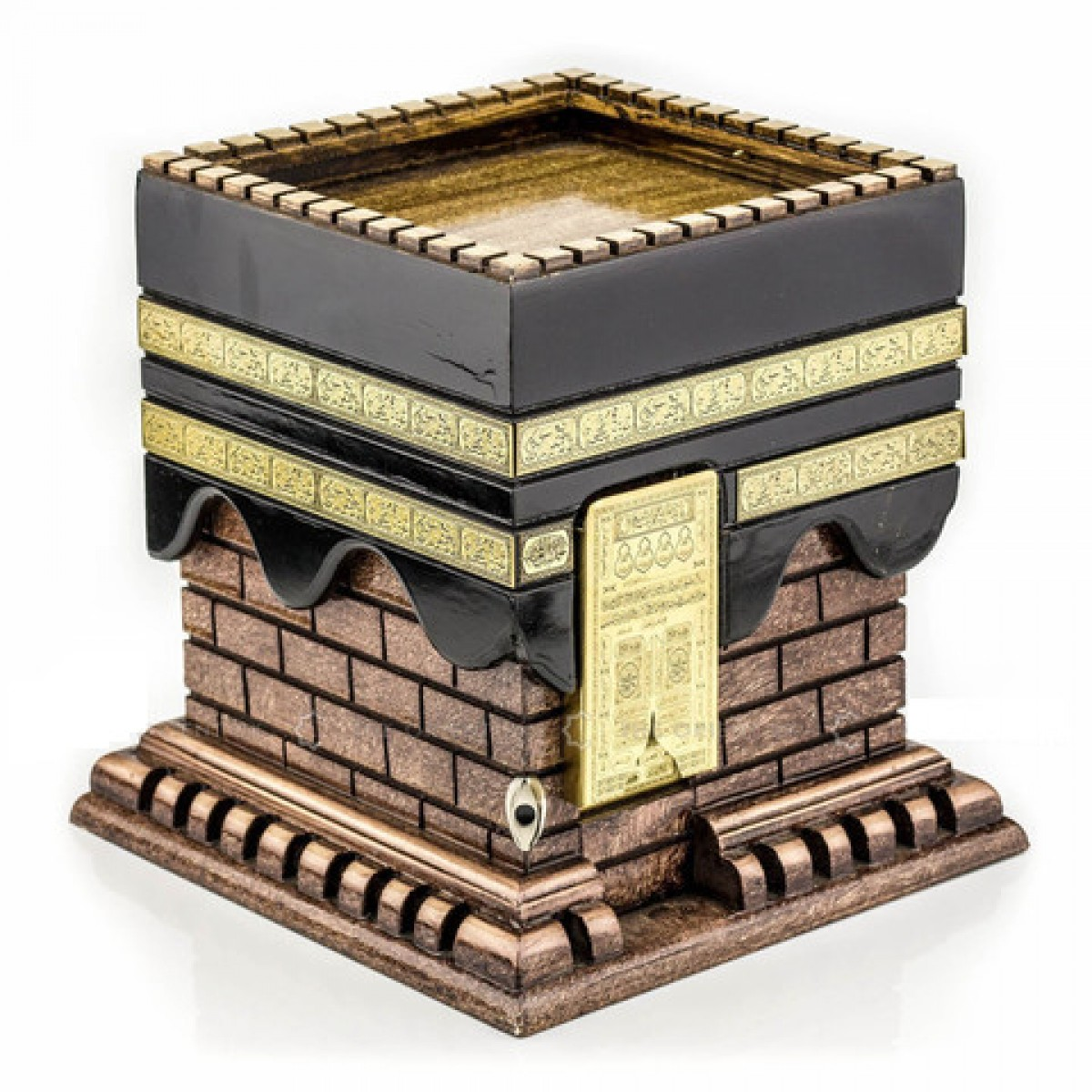 Kaaba shape gift box ideal islamic valuable jewellery eid gift luxury kaaba shape gift box ideal islamic valuable jewellery eid gift negle Choice Image