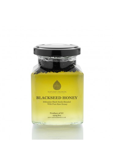 NATURE'S BLENDS BLACK SEED INFUSED HONEY