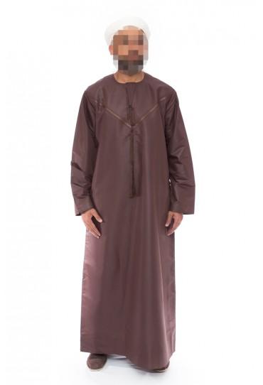 Emirati Brown Omani Jubba