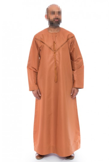 Emirati Burnt Orange Omani Jubba