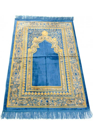 Design Prayer Mat; Light Blue