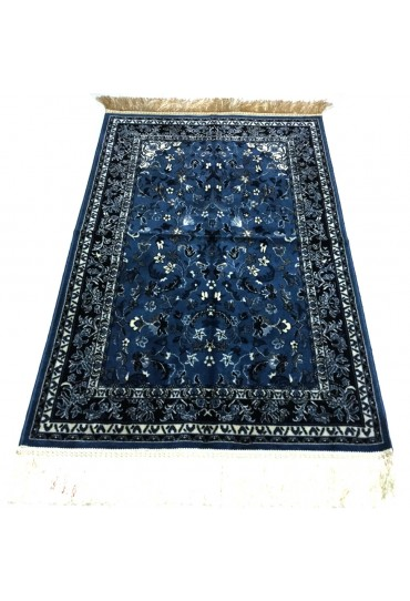 Haramain Inspired  Prayer Mat / Rug Carpet Blue