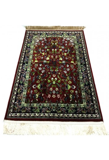 Haramain Inspired  Prayer Mat / Rug Carpet Maroon