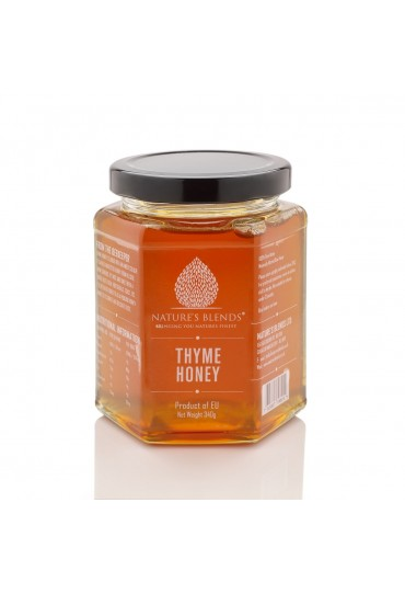 PURE RAW THYME HONEY HARVESTED IN SPAIN