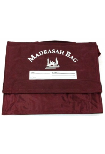 Burgundy Madrasah Bag Large