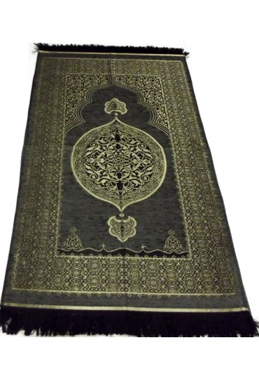 Metalic Prayer Mat; Grey