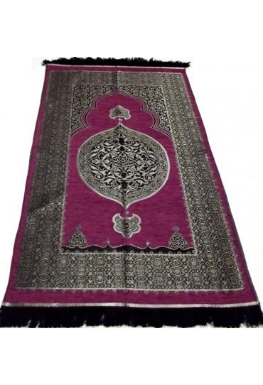 Metalic Prayer Mat; Fuchsia Pink