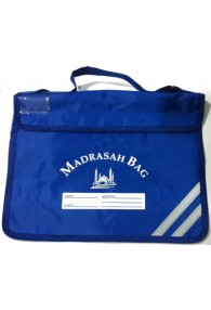 Royal Blue Madrasah Bag Single Pocket