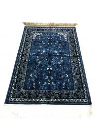 Haramain Inspired  Prayer Mat / Rug Carpet Blue