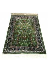 Haramain Inspired  Prayer Mat / Rug Carpet Green
